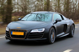 Afrojack Wraps Audi R8 in Matte and Gold