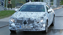 Mercedes E Class Convertible spy photos