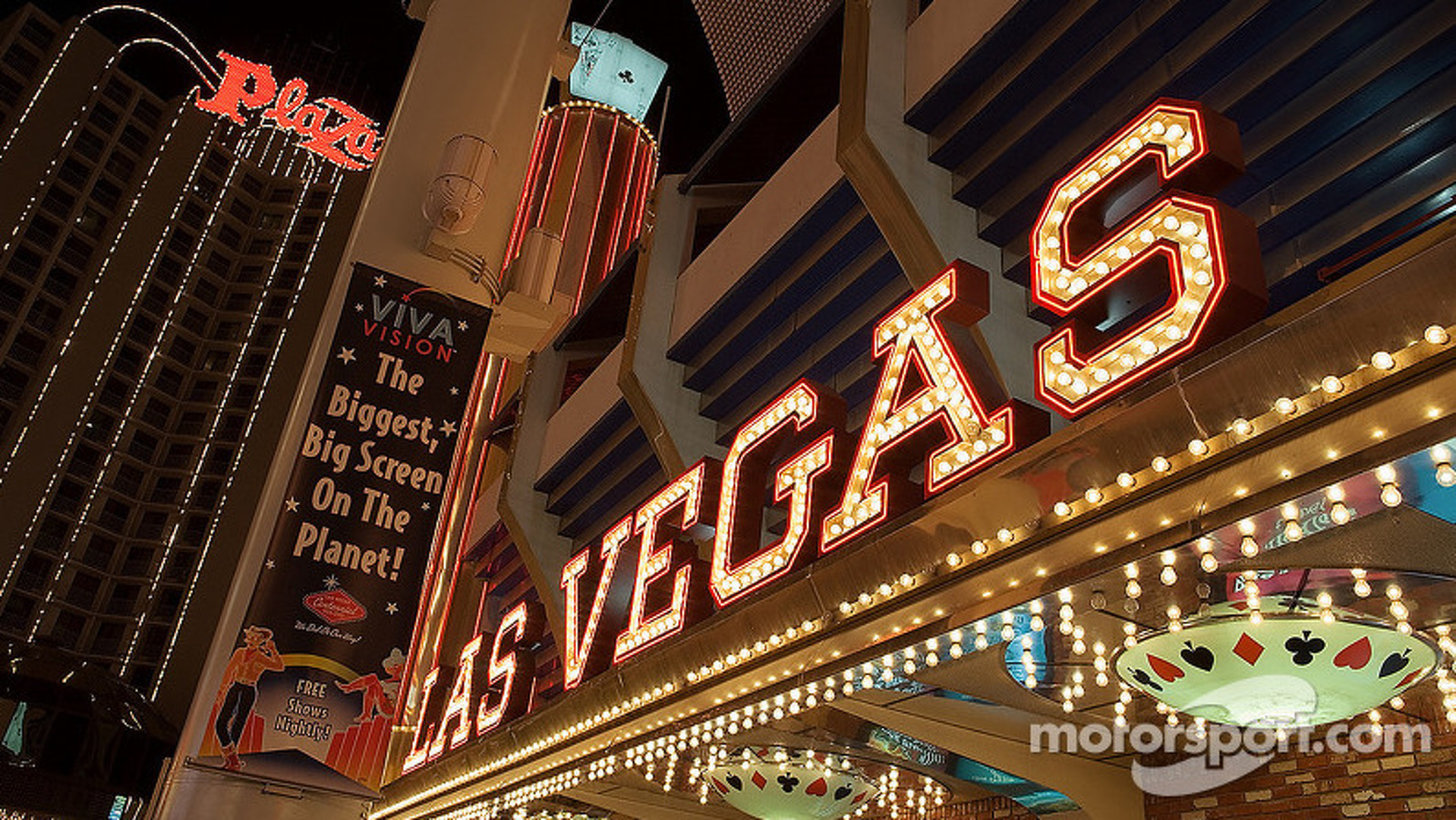 Las Vegas gets boost in F1 bid