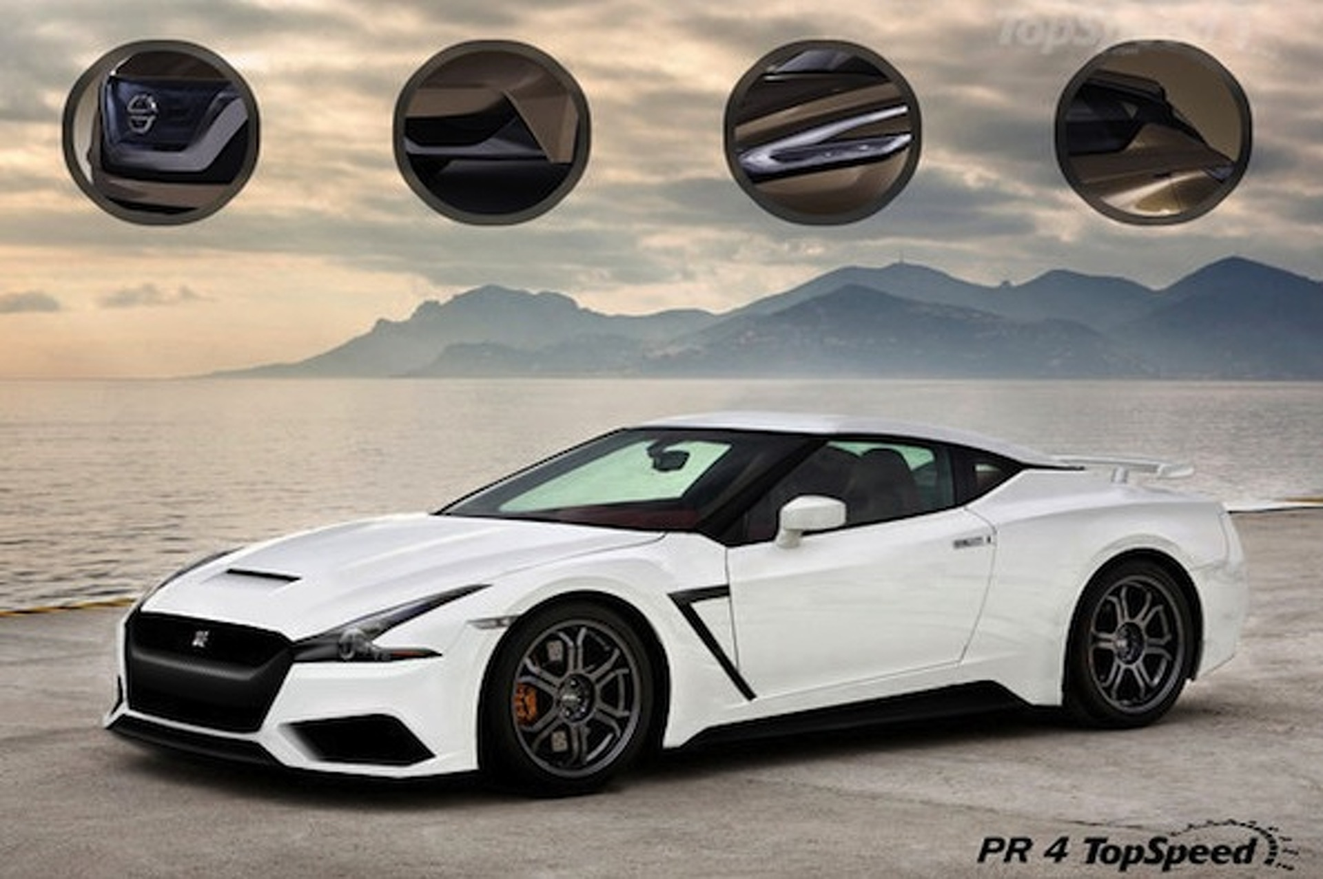 2016 Nissan GT-R Gets Sharp New Rendering