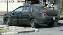 SPY PHOTOS: Fiat Punto Sedan