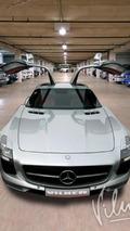 Mercedes SLS AMG by Vilner 08.1.2013