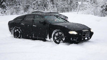 2013 Maserati Ghibli first spy photos emerge