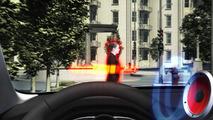 Volvo Pedestrian Detection with full auto brake 19.2.2013