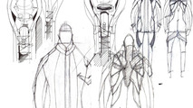 Audi Suit concept by students Cherica Haye and Nir Siegel from the Royal College of Art in London 26.11.2012