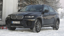 2013 BMW X6 Facelift spy photos 10.01.2012