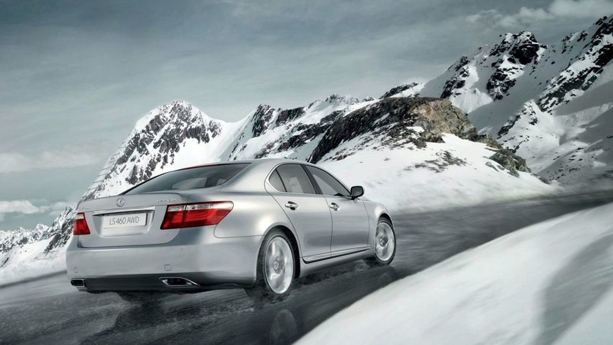 Lexus LS 460 AWD to Debut at Moscow Motor Show
