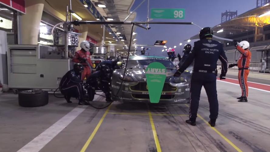 Mannequin Challenge invades Aston Martin Racing, Infiniti