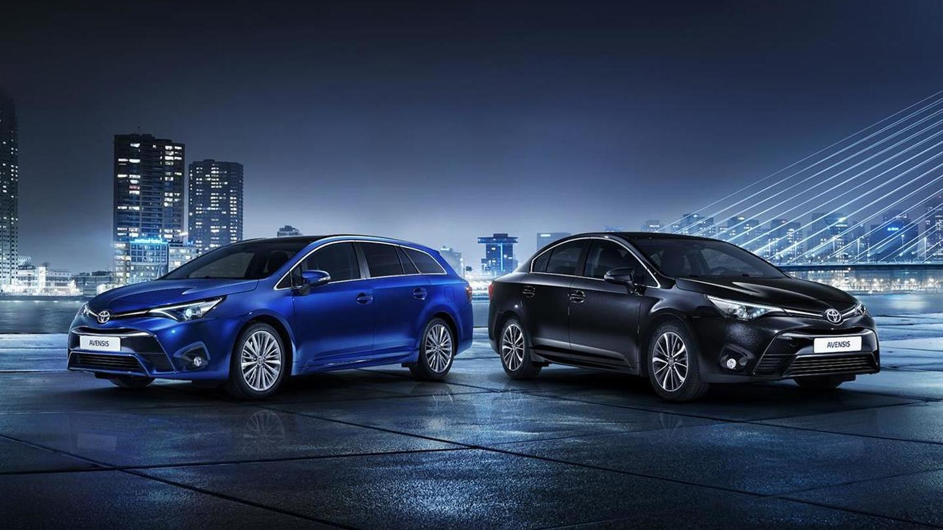 2015 Toyota Avensis launched in Geneva with cosmetic and mechanical upgrades