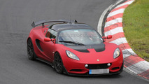 Street-legal Lotus Elise S Cup R spy photo