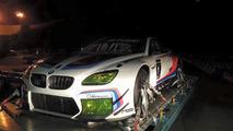BMW M6 GT3 racecar in Atlanta