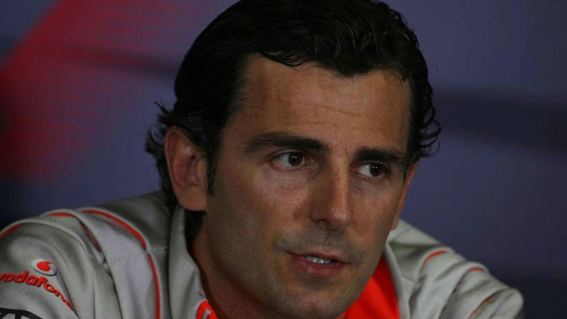 De la Rosa eyes F1 return and McLaren test seat