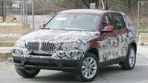 2011 BMW X3 Prototype Reveals New Body Details Via Less Camouflage