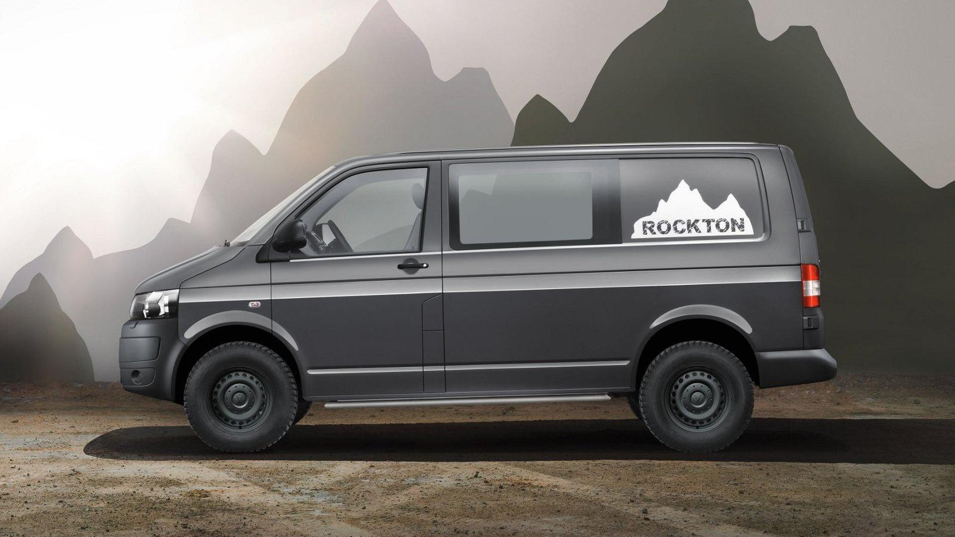 Volkswagen Transporter Rockton 4MOTION - for the toughest terrain