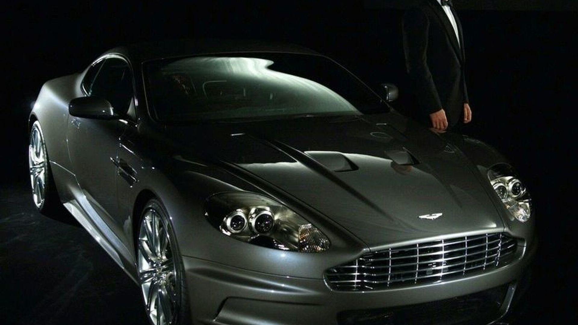 James Bond's Totalled Aston Martin DBS Sells for £200K