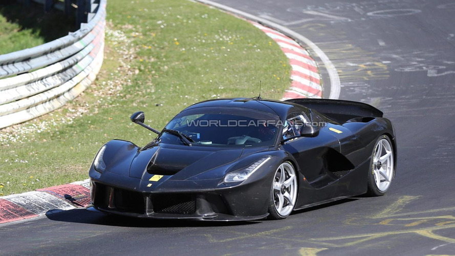 LaFerrari XX mule spied on the Nurburgring, 6:35 lap time rumored