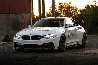 The 2015 BMW M4 Looks Menacing in Widebody Form