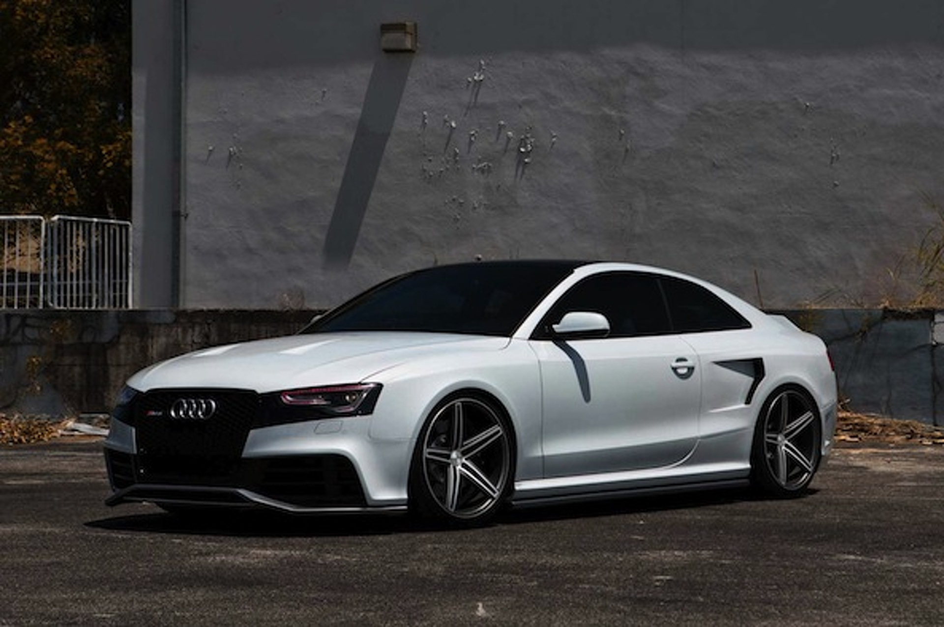 Vossen and OSS Designs Dream Up One Menacing Audi RS5 [W/Video]