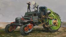 ZiL-157 Russian Monster Robot Car