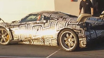 Hardcore Pagani Huayra spied testing on track with massive rear wing [video]