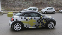 2014 MINI E Race Coupe spied in Munich