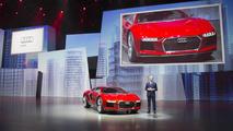 Audi Nanuk quattro concept live at 2013 Frankfurt Motor Show