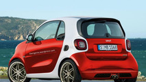 New Smart ForTwo rendered with Brabus treatment