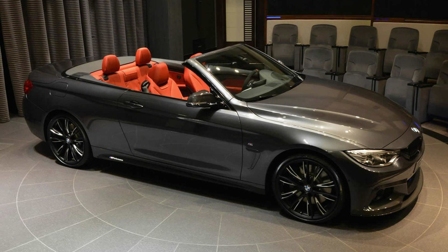 BMW 4-Series Convertible pampered with the M Performance package