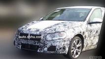BMW 1-Series Sedan spied testing in China