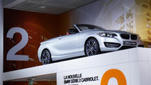 2015 BMW 2-Series Convertible live at 2014 Paris Motor Show