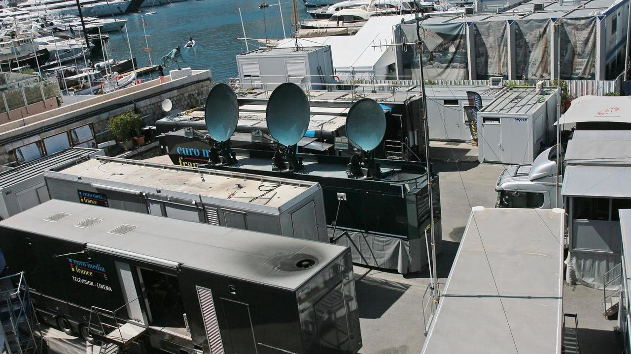 TV Compound, 23.05.2014, Monaco Grand Prix, Monte Carlo / XPB