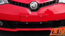 2014 MG5 sedan spied without any camouflage