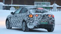 Alfa Romeo Giulietta facelift spy photo