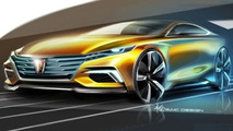 Roewe Vision R concept teased ahead of Guangzhou debut