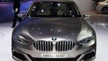 BMW Compact Sedan Concept at 2015 Guangzhou Motor Show