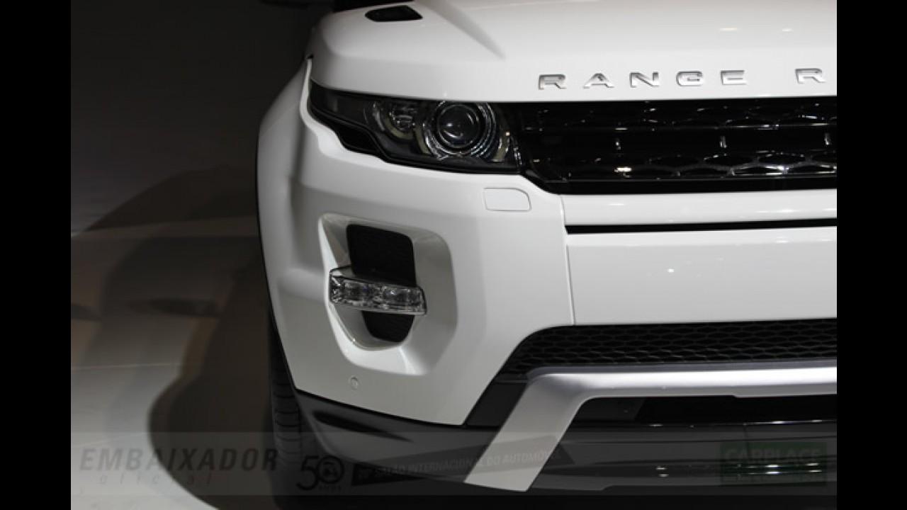 Salão do Automóvel: Todos os detalhes do Range Rover Evoque em fotos