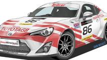 Toyota GT 86 race car 27.7.2012