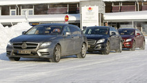 2013 Mercedes CLS Shooting Break spied with minimal disguise