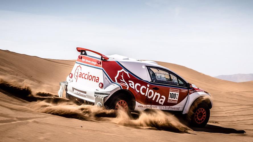 Un véhicule électrique termine le Dakar pour la première fois