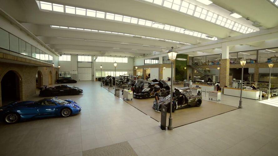 Timelapse of Pagani's new factory is not a bad way to spend your Saturday