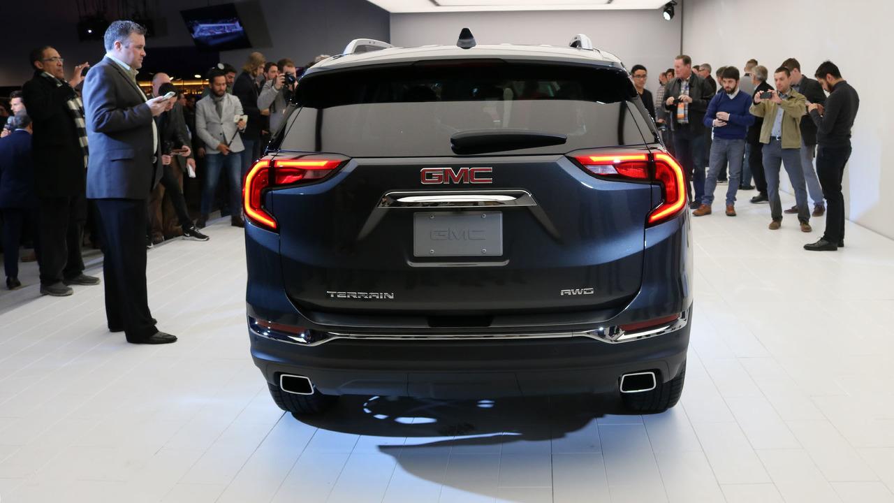 2018 GMC Terrain: Detroit 2017