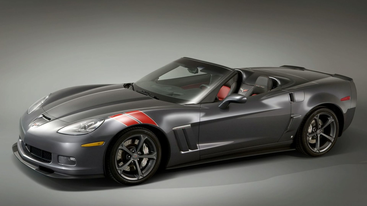 Accessorized Corvette Grand Sport with Heritage Package