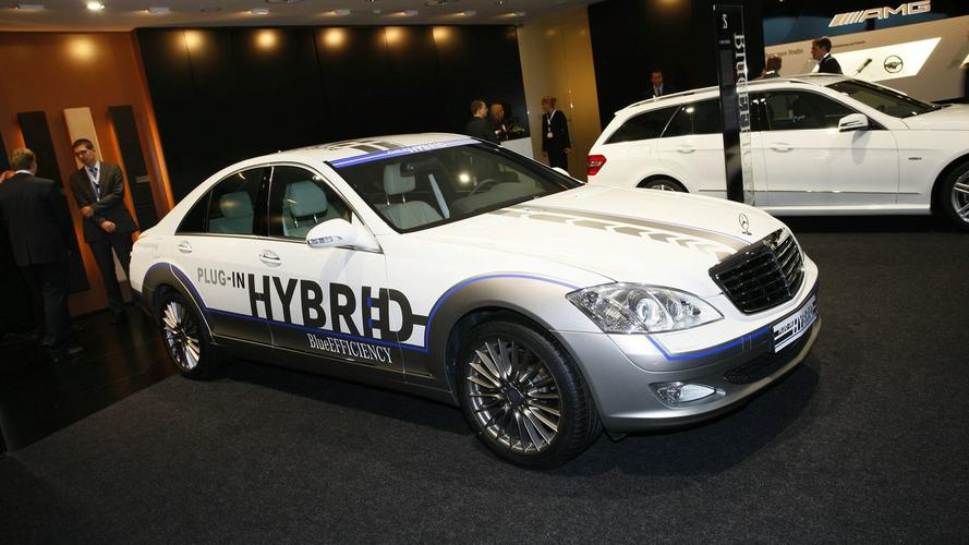 Mercedes Vision S 500 Plug-in hybrid Unveiled in Frankfurt [video]