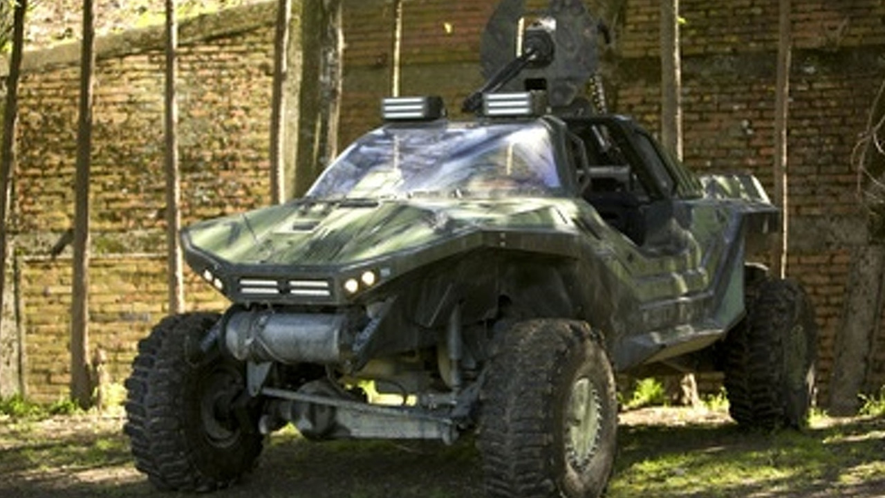 Halo Warthog full function vehicle prop