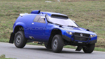 Volkswagen Race Touareg prototype spy photo in the Alps 15.60.2010