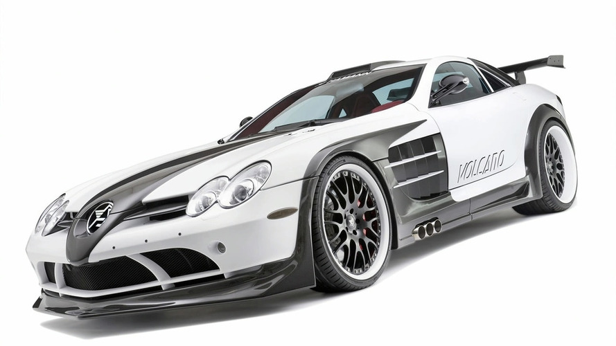 Hamann Volcano Based on Mercedes Mclaren SLR Officially Detailed