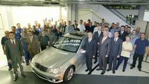 Last Mercedes C-Class 203 Series Produced
