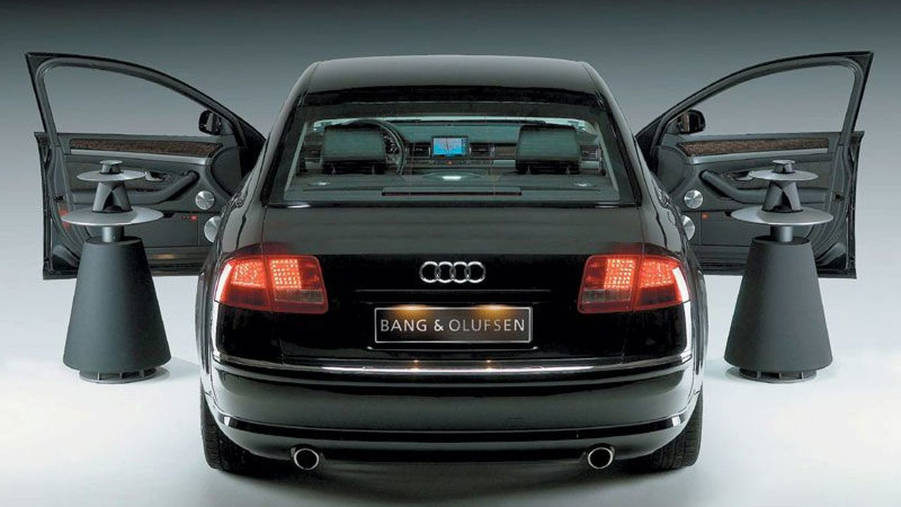 Audi A8 Bang & Olufsen Audio System