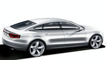 Audi A7 design sketch
