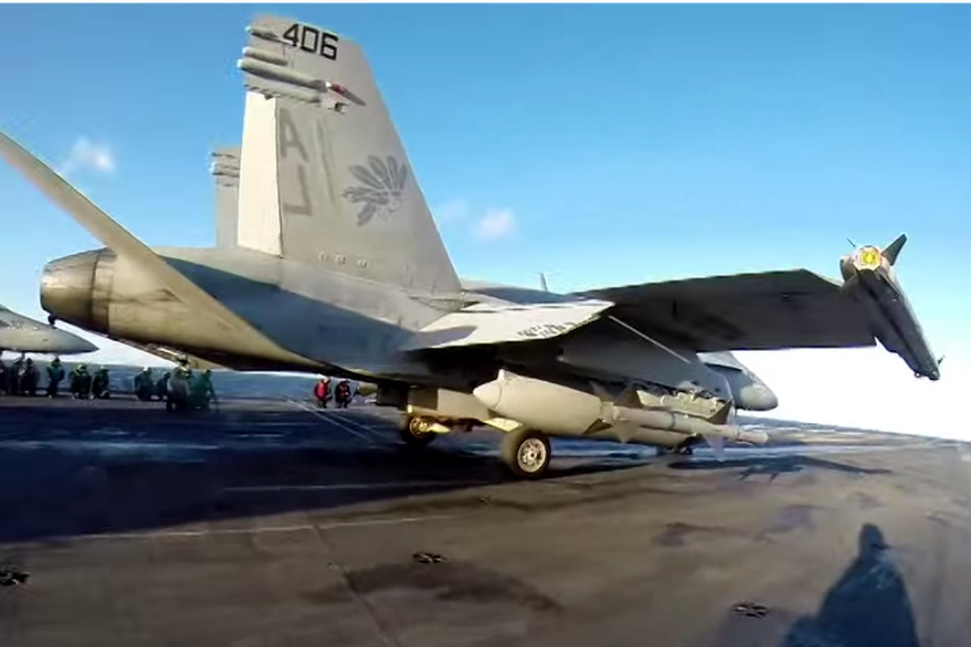 Helmet-Cam Footage of F/A-18 Pre-Flight Check is Incredible [Videos]